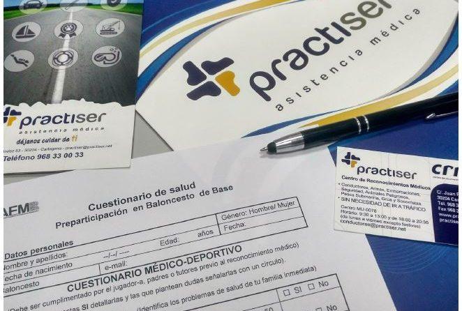 Comienza la temporada de reconocimientos médicos deportivos por Practiser en Cartagena