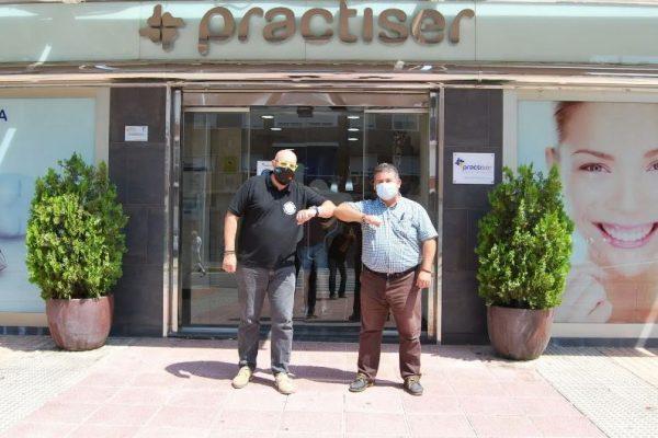 Acuerdo de colaboración entre Practiser y el Club Carthago Voley
