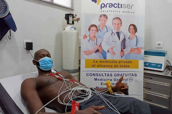 Reconocimiento médico al nuevo fichaje del FC CARTAGENA CB